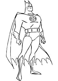 batman posture coloring pages hellokids