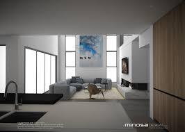 minosa the modern living room kitchen lounge u0026 dine
