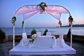 beach wedding reception ideas food unique beach wedding