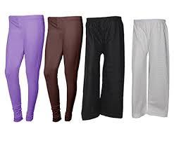 light purple leggings women s indistar womens bottom wear combo pack of 4 pack of 2 cotton full