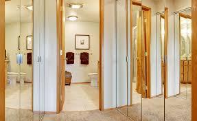 mirror doors frameless shower doors from glass by design