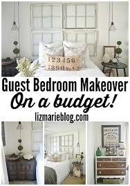 bedroom makeover ideas on a budget guest bedroom makeover on a budget see how thrifted finds a