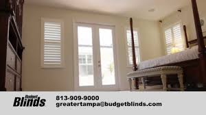 plantation shutters by budget blinds tampa youtube