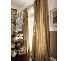 Dupioni Silk Drapes Discount Silk Gold Pole Drapes