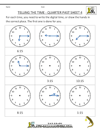 what time is it o clock worksheets