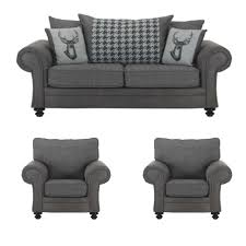 The Sofa Kings by Grey Fabric Sofas And Suites From The Sofa King Cheap