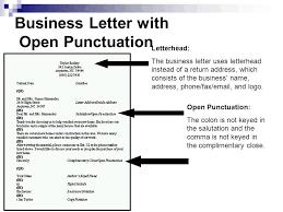 business letter block format open punctuation cover letter templates