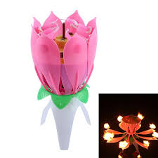 musical birthday candle lotus musical birthday candles mrluminoproducts