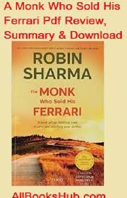 the monk who sold his review the monk who sold his pdf review summary best