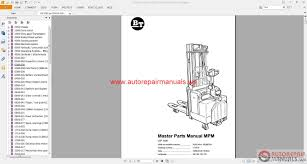 bt walkie forklift parts catalog cd auto repair manual forum