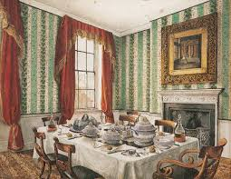 Vintage Dining Rooms by Dining Room Curtains Not So Newlywed Mcgees Dining Room Curtains