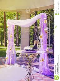 beautiful wedding gazebo in summer park stock photo image 32638684