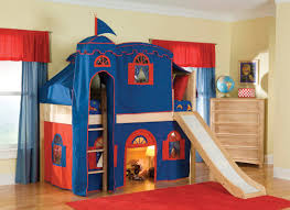 Princess Style Bedroom Furniture by Bedroom Fabulous Bunk Beds For Kids With Slide Style With Kids