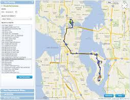 Seattle Mass Transit Map by Metro U0027s New Beta Trip Planner Try It