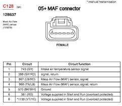 maf wiring diagram ford wiring diagrams instruction
