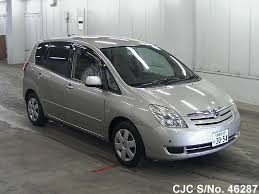 2003 toyota spacio beige for sale stock no 46287 japanese