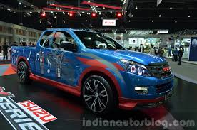 thailand live isuzu d max special editions showcased