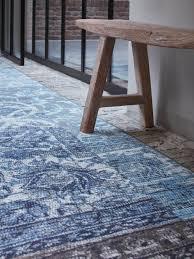 Tarkett Boreal Laminate Flooring Stoere Loper In De Trendkleur Denim Blauw Van Desso U0026ex Geeft Sfeer
