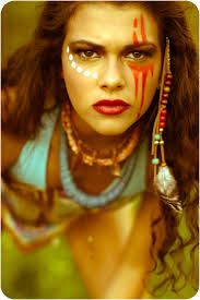 Good Makeup Ideas For Halloween by Top 25 Best Tribal Makeup Ideas On Pinterest Warrior Makeup