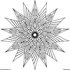 31 mandala geometric coloring pages images
