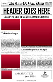 free newspaper layout template indesign resume newspaper template for adobe indesign cs6 cakepins com