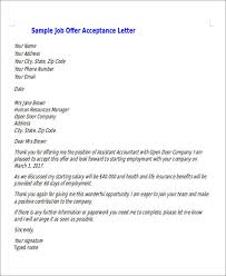 thank you letter for job offer job offer rejection thank you
