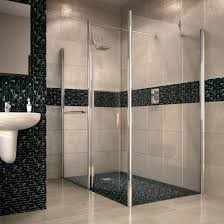 bath shower screens bathroom departments diy at b q aquadry walk in shower screen end panel w 700mm