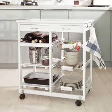 Kitchen Trolley Ideas by Amazon Com Haotian Kitchen Storage Trolley Cart Kitchen Trolley