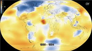 World Temperature Map October by Nasa U0027s Analysis Of 2016 Global Temperature Youtube