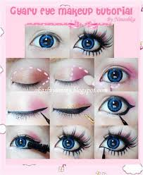 this guide shows how you can transform yourself into a cute gyaru we are sharing with you some quick gyaru makeup tutorials eyes being the noted part in