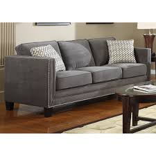 Charcoal Grey Sofa Zampco - Comtemporary sofas