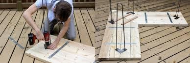 bureau a faire soi meme decoration meuble bureau faire soi meme bois etape par etape