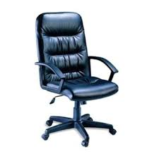 Blue Computer Chair Sigma C 732 High Back Executive Office And Computer Chair Black