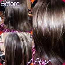 before and after hair cuts before and after hair color picture