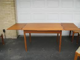 Table With Leaves That Pull Out At New Dining Room Alliancemv Com