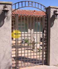 custom wrought iron courtyard gates glendale by moon ornamental