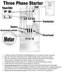 wiring diagram for single phase magnetic starter wiring diagram