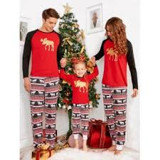elk matching family pajama m in pajamas