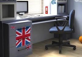 chambre ado londres déco chambre ado style londres kit stickers drapeau anglais déco