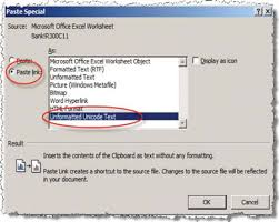 tip from a reader link a single excel cell into a word document