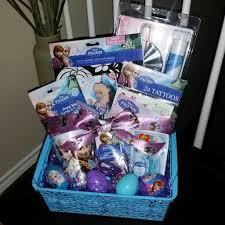 filled easter baskets disney frozen pre filled easter basket gift disney frozen