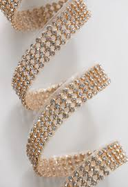 bling ribbon diamond wrap adhesive rhinestones