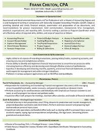 Sample Resume Of Cpa by Resume Samples Types Of Resume Formats Examples And Templates