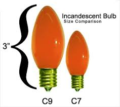 christmas lights sizes comparison c9 christmas lights elec intro website
