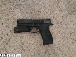 smith and wesson m p 9mm tactical light armslist for sale smith and wesson m p 9mm w crimson trace laser