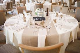 wedding reception tables burlap wedding reception table runner