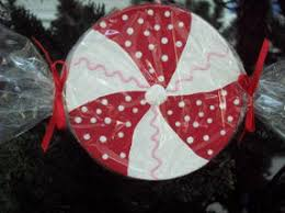 busylittlechristmaself how to make peppermint ornaments