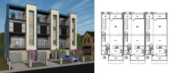 townhouse design thurman townhomes beegan architectural design