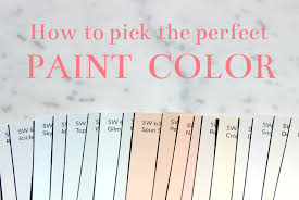 sadie road organized u0026 styled how to pick the perfect paint color