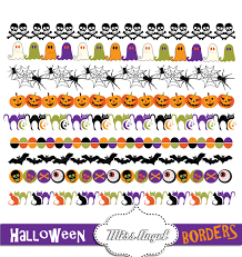 halloween solitaire background halloween borders clip art halloween bunting banners digital